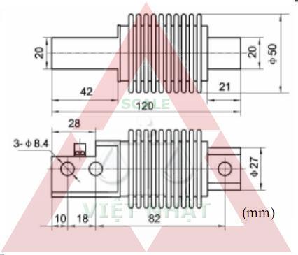 Loadcell VMC Xoắn 106, Loadcell VMC Xoan 106, loadcell-vlc-A106-vmc_1341893850.JPG