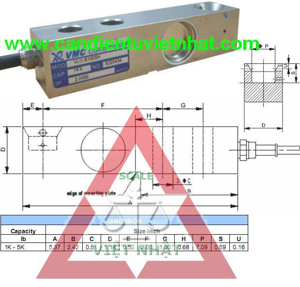 Loadcell VLC B100SH, Loadcell VLC B100SH, loadcell-vlc-b100sh_1342064450.JPG