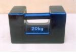 can dien tu, cân điện tử - Quả cân chuẩn 20kg